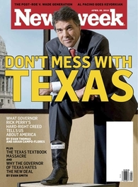 Rick Perry newsweek cover
