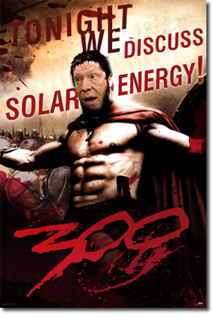 Bill White solar energy 300