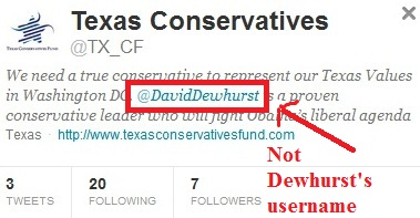 Dewhurst Super PAC is always factually incorrect