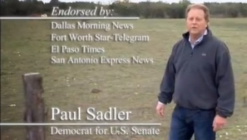 Sadler touts his editorial board endorsements