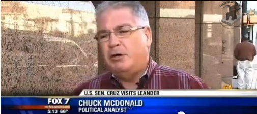 """Political Analyst"" Chuck McDonald criticizing Ted Cruz"