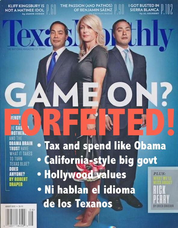 Texas Monthly alternate cover