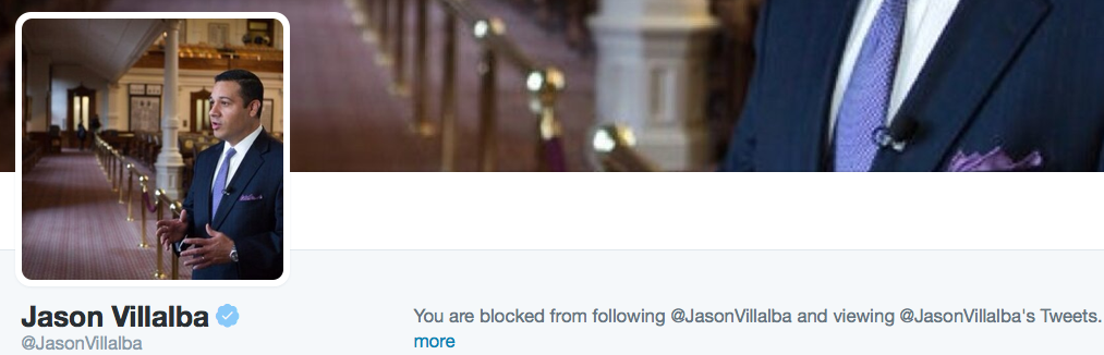 Progessive Jason Villalba has thin skin